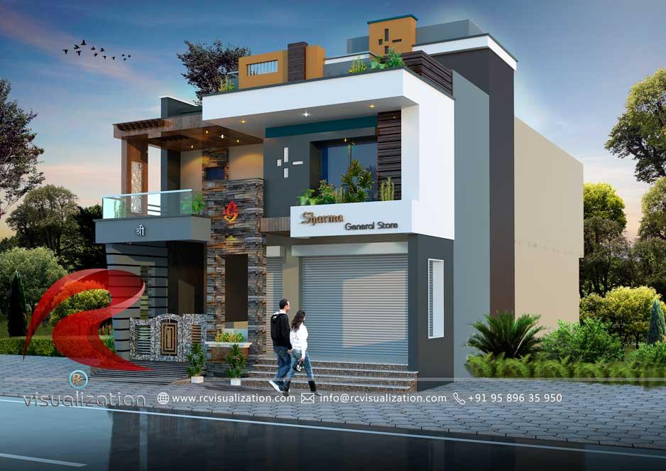 Shop U0026 Residential Building