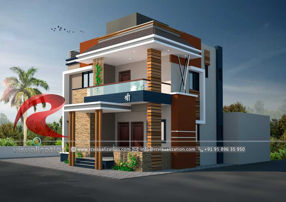 3d House Designs Gallery Rc Visualization Structural Plan